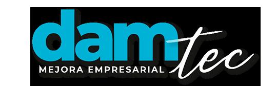 damTec  |  Soluciones de Outsourcing y Mejora empresarial Logo
